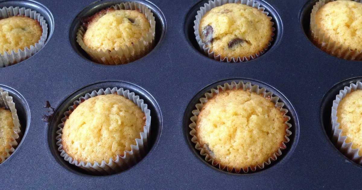 apelsin choklad muffins
