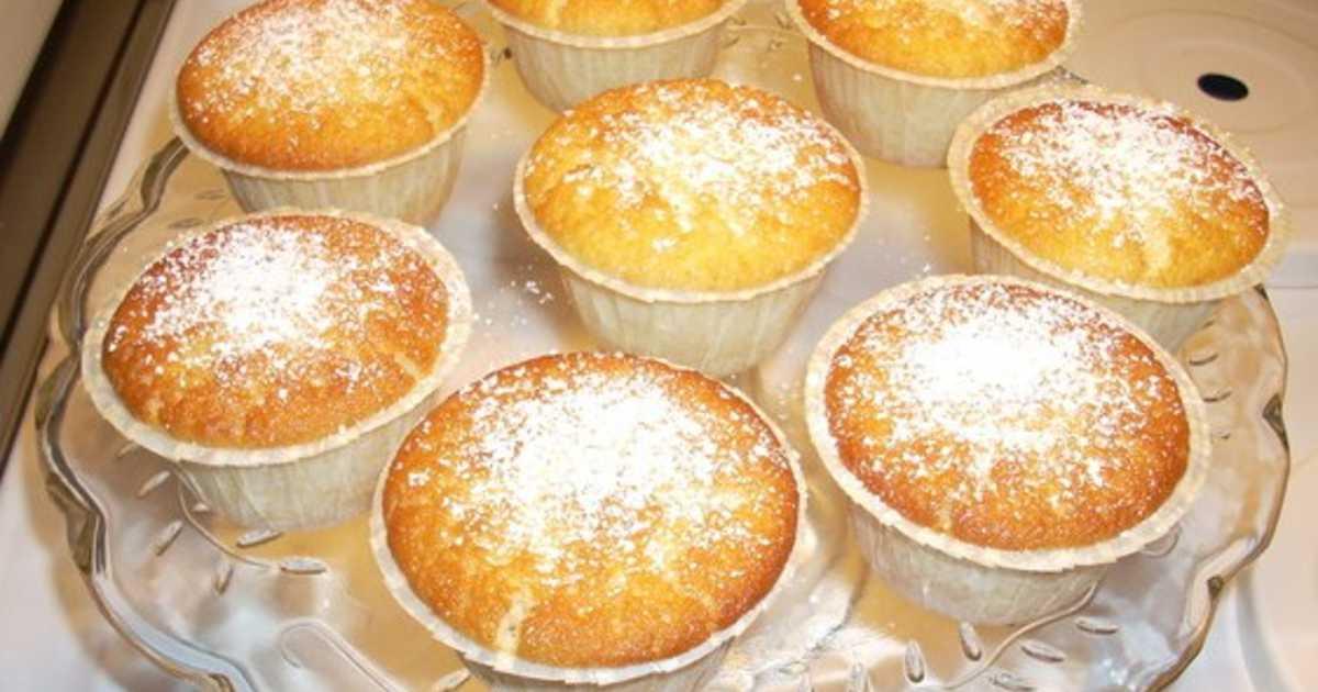 citronmuffins med fyllning