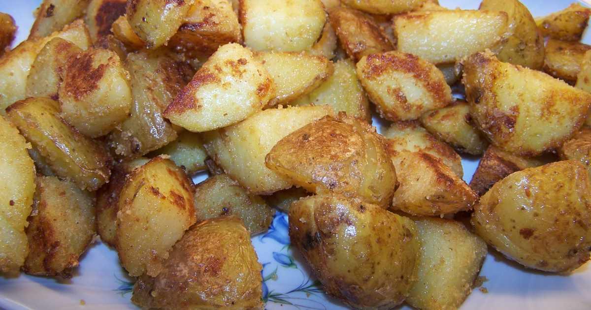 stekt potatis i ugn