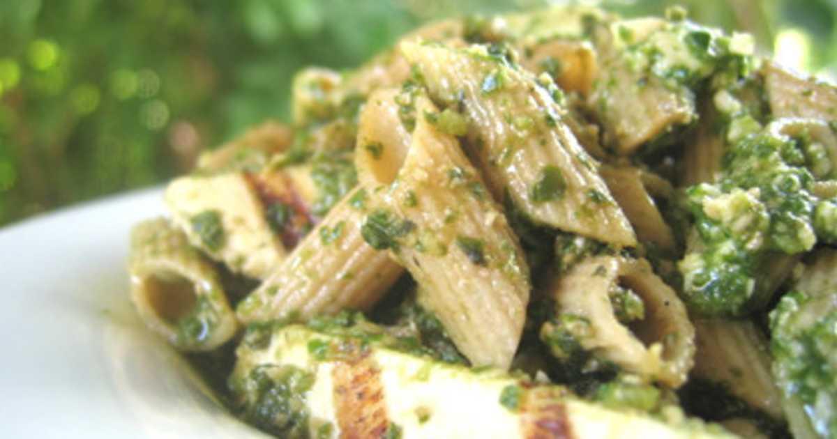 kyckling pesto recept