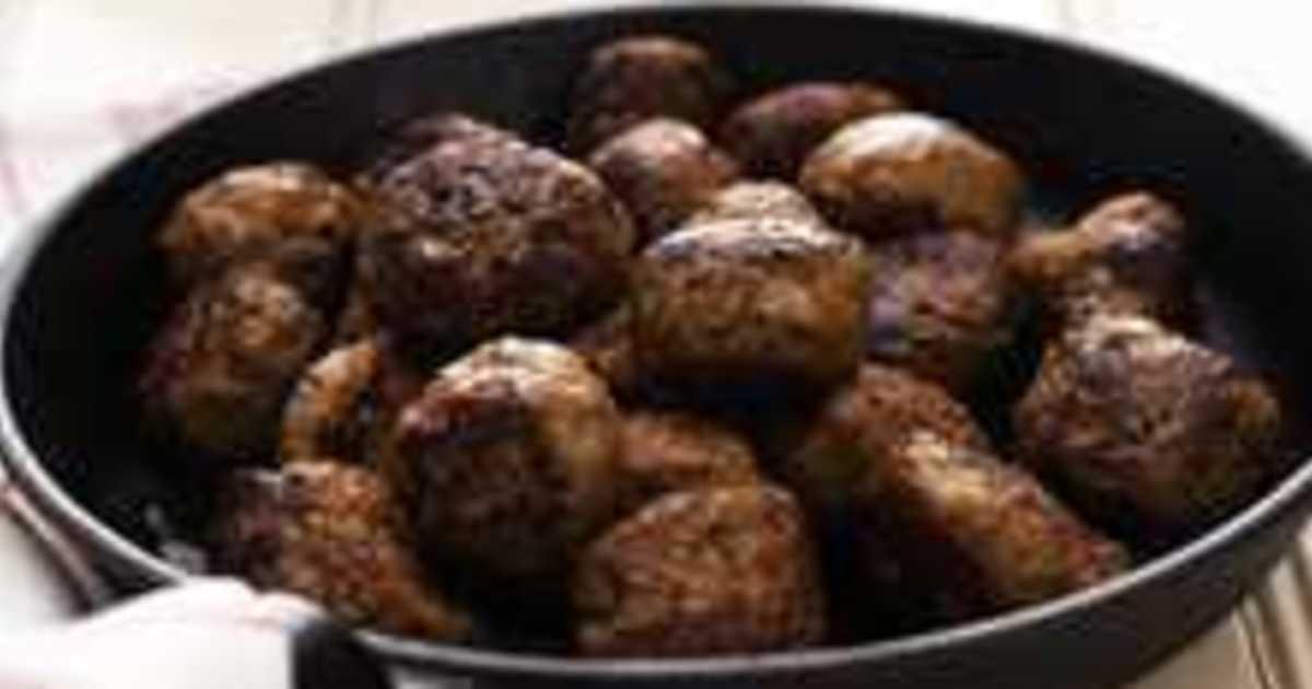 världens bästa köttbullar recept