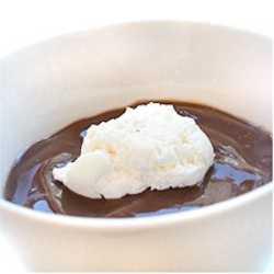 recept på chokladpudding