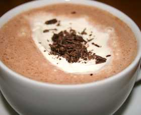 varm choklad vaniljsocker