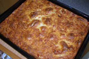 ugnspannkaka med bakpulver recept