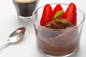 göra egen chokladmousse