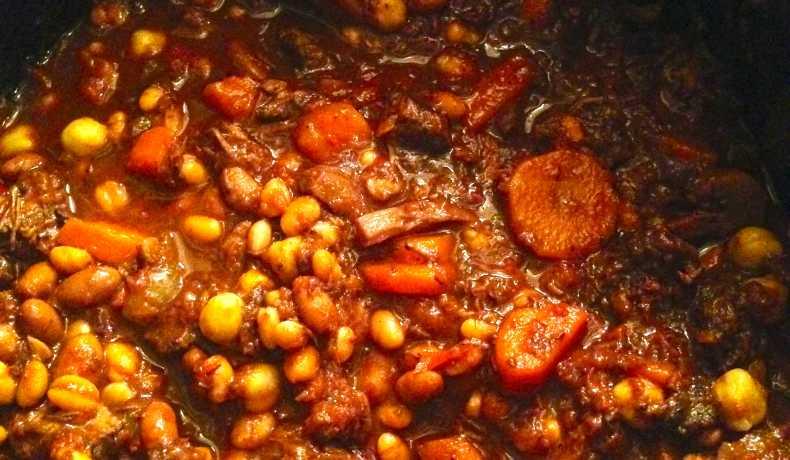 äkta chili con carne recept