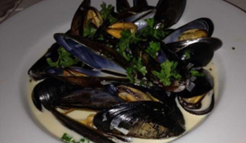 musslor i grädde