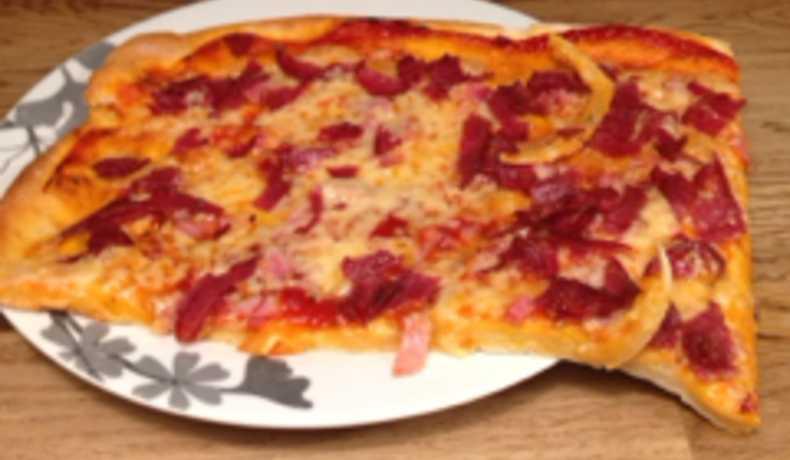 pizzadeg bakpulver vatten