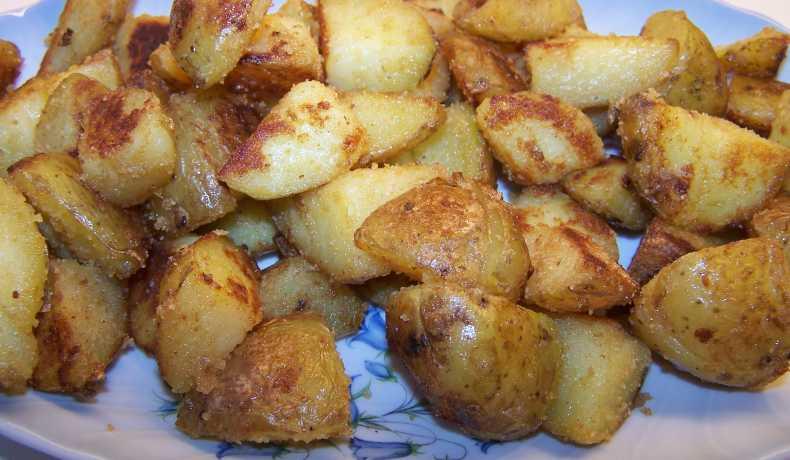 krydda stekt potatis