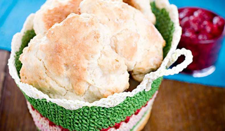 scones med gräddfil