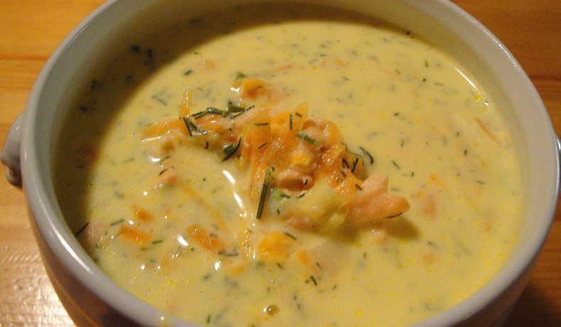 soppa med mjukost
