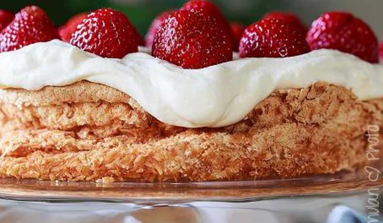 mjölk och glutenfri tårta