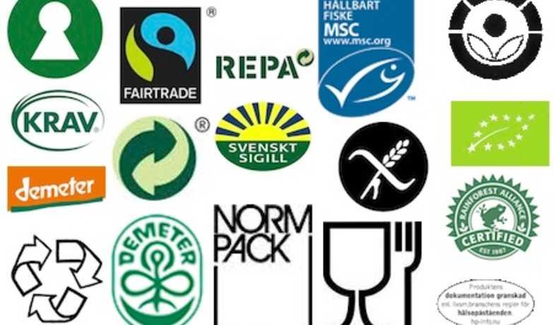 märken och symboler