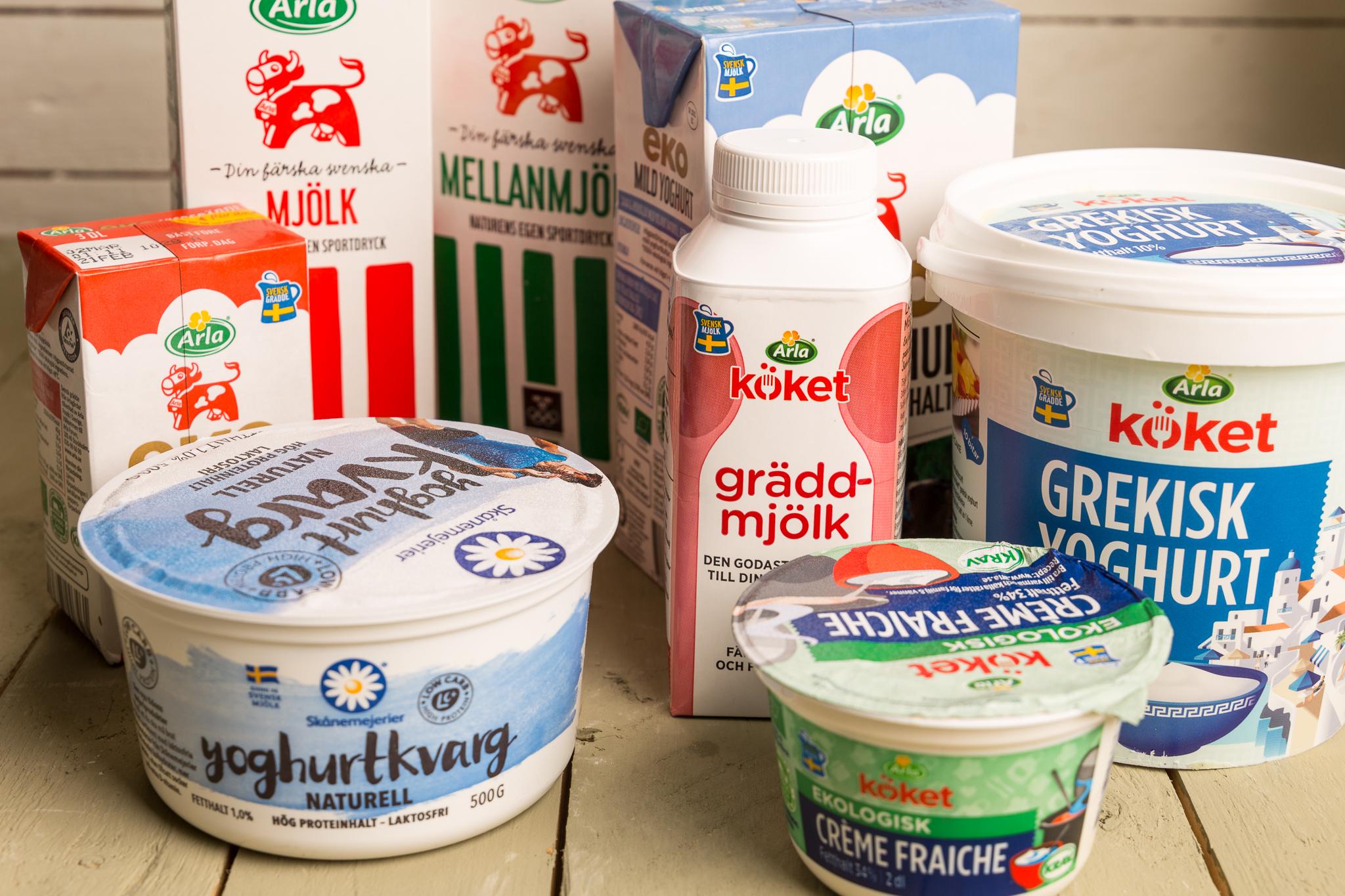 syrad grädde laktosfri