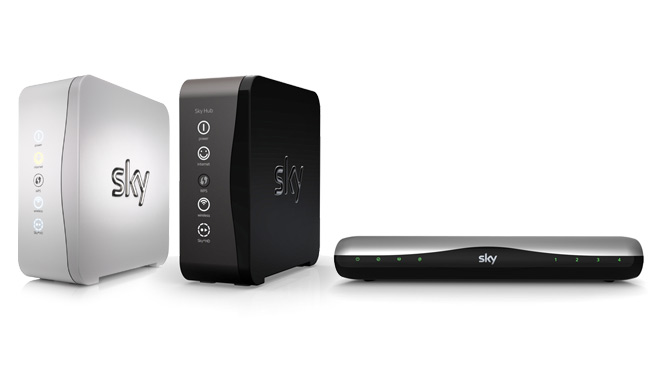 Routers that are compatible with the Sky Wireless Booster