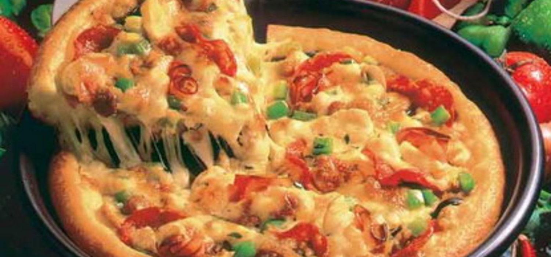 Как сделать пиццу в сковороде с жидким тестом8
