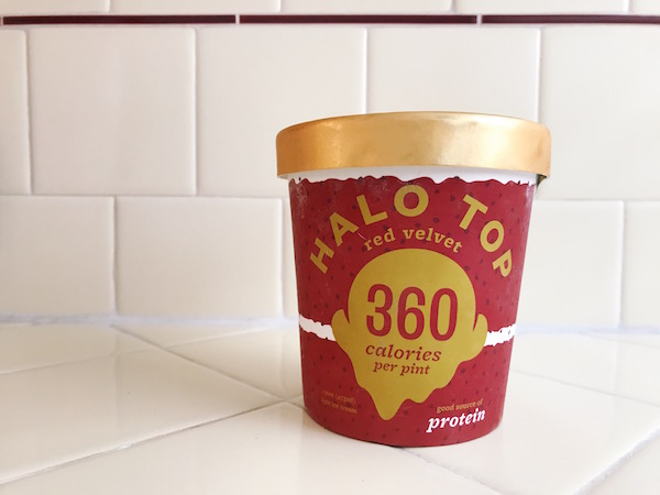 Halo Top Red Velvet - The Wellnest by HUM Nutrition