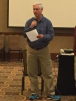 Bob McGarey made a speech (1 of 3)