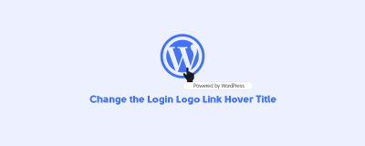Change Login Logo Hover Title in WordPress (With Code) image