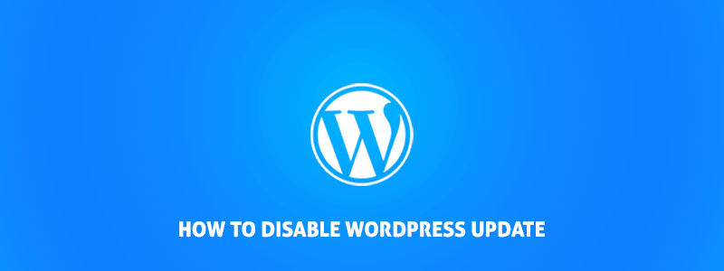 How to Disable WordPress update for Non-Administrators image