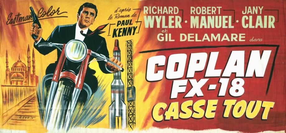 Coplan agent secret fx 18