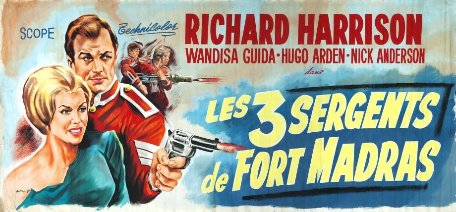 Les trois sergents de fort madras