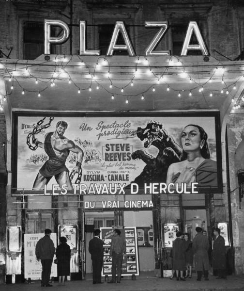 Les travaux d hercule au plaza 1959