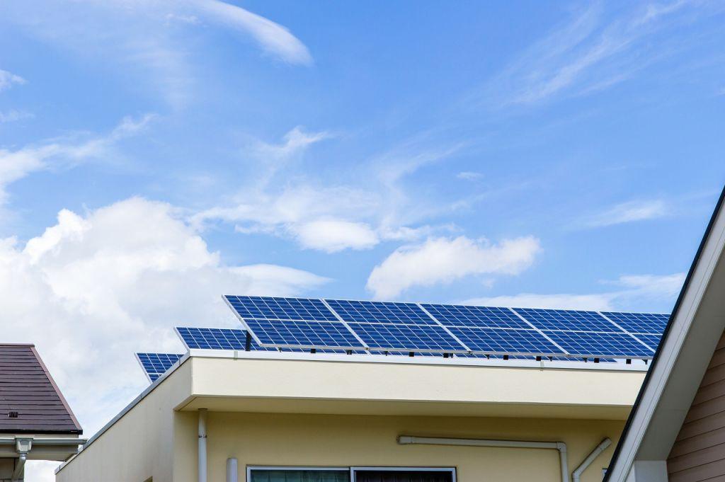 太陽光発電 陸屋根