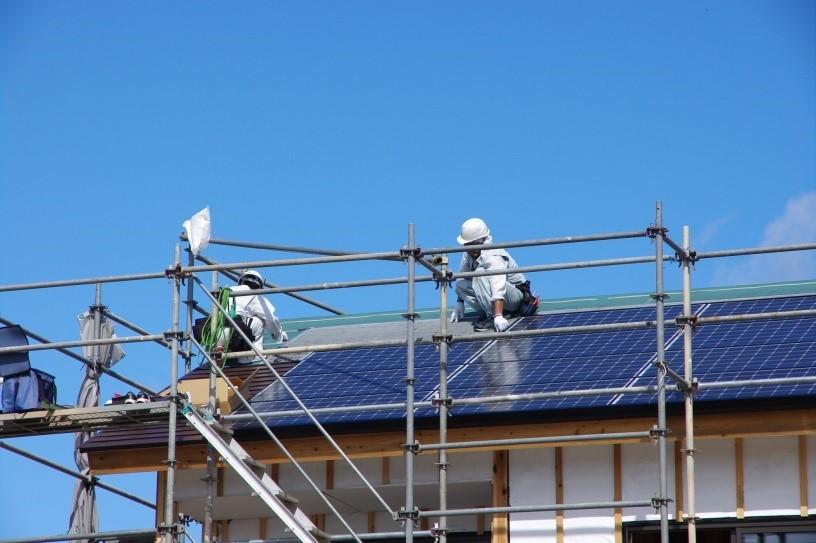 太陽光発電 工事