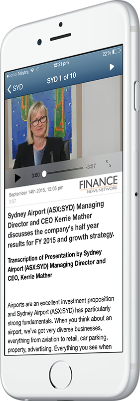 ASX:SYD CEO Kerrie Mather video interview