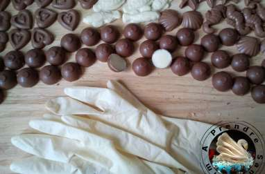 Chocolats fritures de pâques