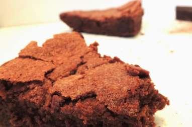 Gâteau fondant aérien au chocolat