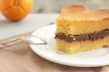 Moelleux orange chocolat