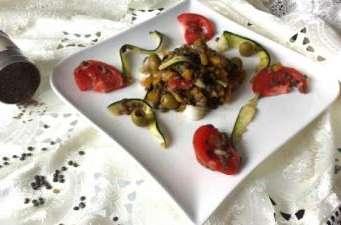 Salade de lentilles à l' orientale
