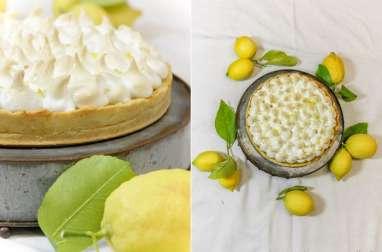Tarte au citron meringuée (ou pas) !