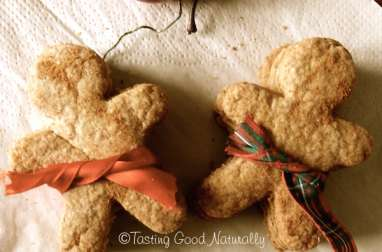 Gingerbread man cookies