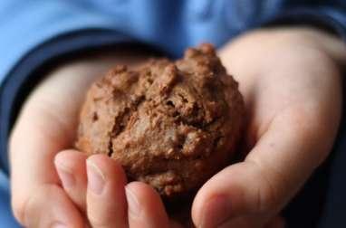 Muffins au chocolat et pépites de cacao