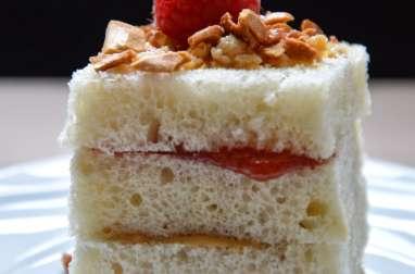 Peanut butter and Jam Sandwich en version Pâtisserie