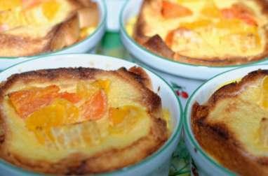 Pudding brioché aux agrumes
