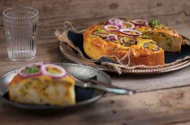 Gâteau de Chou Fleur Parmesan et Basilic