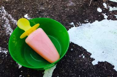 Watermelon Yogurt Pops