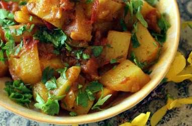 Aloo Bombay pommes de terres à l'indienne