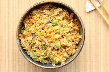 Okara aux légumes