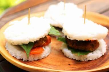 Min-burgers comme un Bun Cha vietnamien