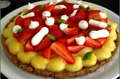Tarte citron-fraise