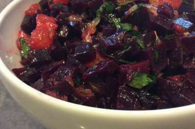 Salade de betterave à l'orange