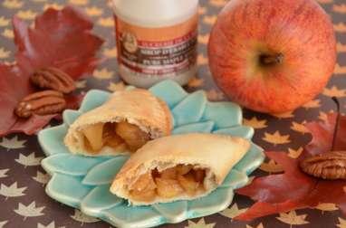 Chaussons aux pommes noix de pécan sirop d'érable