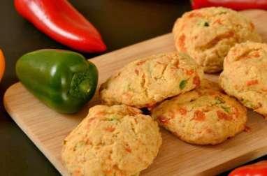 Cookies Poivron & Cheddar
