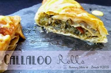 Callaloo Rolls au Beurre de Mangue