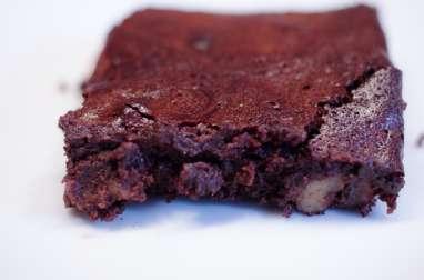 Brownie au praliné et aux noix